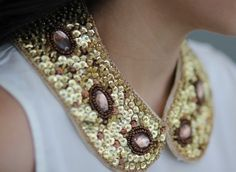 I love the collar #trend! It's a fab way to add your own special touch and with this one you can add lots of bling!