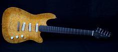"Operaio  ""l'occhio"" Custom Guitars, Beautiful Hands, Music Instruments, Handmade, Hand Made, Musical Instruments, Handarbeit"