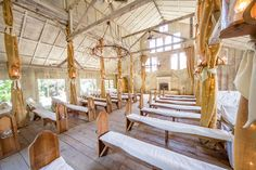 gorgeous chapel with plenty natural light