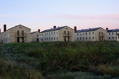Fort Chaffee Barracks - an Army base in Arkansas, where we lived for five months