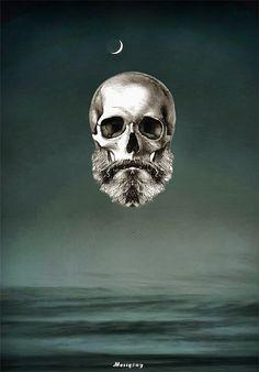 Beard Digital Painting - Broda Malarstwo Cyfrowe