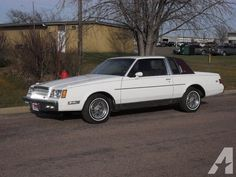 1981 Buick Regal mine was all black with a red pinstripe