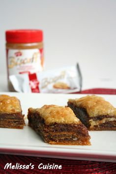 Biscoff Baklava
