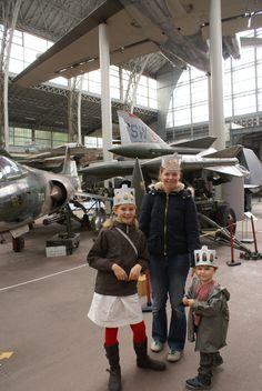 Zelfs in de Luchtvaarthal!