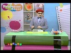 Porta lápis de embalagem reciclada - Professor Sassá