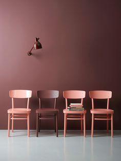 Marsala color decoration - Trendy Home Decorations Interior Desing, Interior Inspiration, Interior And Exterior, Color Inspiration, Brown Interior, Modern Interior, Marsala, Deco Rose, Brown Walls