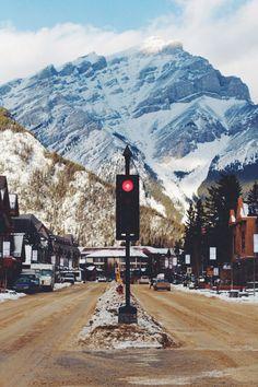 Banff, Alberta, Canada <3 the transcontinental affair