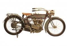 "George Pardos Collection ""Evolution of the Harley-Davidson Motorcycle"": 1915 Harley Davidson 11F Twin"