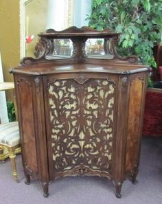 Pair of French Corner Cabinets - Morris Antiques