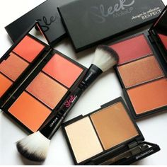 MakeUpWorld.it  Sleek MakeUP bronzers and blushers