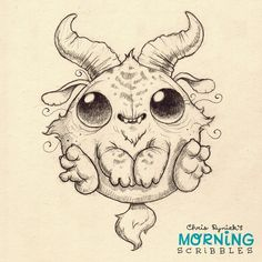 Boing! #morningscribbles | 출처: CHRIS RYNIAK