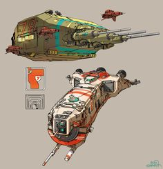 """spaceship studies"" by Sparth - Nicolas Bouvier"