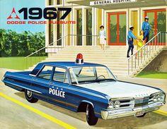 1967 Dodge Polara Police Car