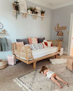 Room Boho - Bright Idea - Home, Room, Furniture and Garden Design Ideas Modern Girls Rooms, Little Girl Rooms, Toddler Rooms, Toddler Girls, Toddler Room Decor, Toddler Hair, Toddler Outfits, Girl Outfits, Boho Room