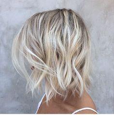 Balayage blond froid sur blond cendré