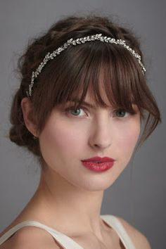 Perfect makeup for a 1920s inspired bride. Spicy Margarita: Wedding Dreams: A Gatsby Inpired Wedding