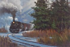 David Tutwiler (American)  ~  American Railroad Art