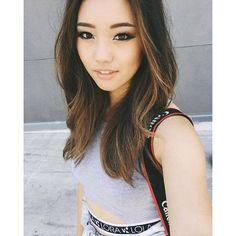 jenn im hair Light Purple Hair, Hair Color Purple, Hot Hair Colors, Cool Hair Color, Cut Her Hair, Hair Cuts, Asian Hair Highlights, Pixie Hair Color, Korean Hair Color
