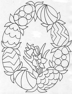 Easter Coloring Pictures, Easter Coloring Pages, Free Adult Coloring Pages, Cute Coloring Pages, Coloring Books, Mosaic Patterns, Painting Patterns, Easter Templates, Creative Bookmarks