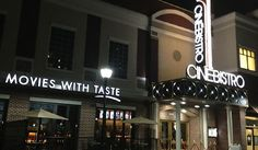 CineBistro Luxury Theater Coming to Cary