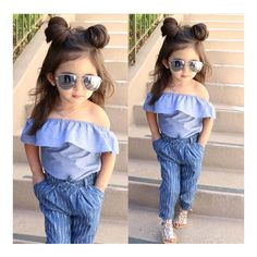In this video, we will show you beautiful kids outfit ideas, baby girls dress designs, cute Kids Style & more. Find out the perfect outfits for your baby. Cute Little Girls Outfits, Cute Baby Girl Outfits, Kids Outfits Girls, Cute Baby Clothes, Toddler Outfits, Kids Girls, Stylish Baby Clothes, Fashion Kids, Little Girl Fashion