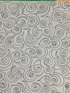 I doodle a lot in the evenings when I should be going to bed. I always know I have a good...