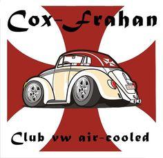 """Bienvenue sur la page du club """"Cox-Frahan"""". Un club entre amis et ouvert à tous possesseurs d'ancien véhicules refroidi par AIR (air-cooled Vw & Porsche)."""