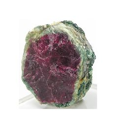 Ruby in Clinochlore Deep red crystal in Sparkly by FenderMinerals, $25.00