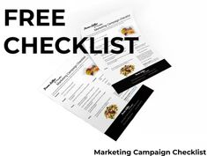 Free Marketing Campaign Checklist - PromoLollies.co.nz Free Market, Confectionery, Promotion, Campaign, Articles, Marketing, Ideas, Thoughts