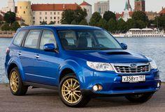 Subaru Forester tS STI RU-spec (SH) '2012