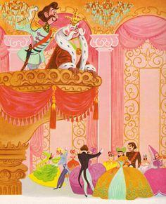 Cinderella - illustrations by the Walt Disney Studio, adapted by Retta Scott Worcester (1950)