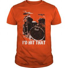 I Love Id Hit That Pearl Shirts & Tees #tee #tshirt #named tshirt #hobbie tshirts #Drum
