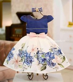 Toddler Dress, Toddler Outfits, Toddler Girl, Kids Outfits, Girls Party Dress, Little Girl Dresses, Girls Dresses, Little Girl Fashion, Kids Fashion