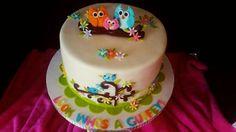 Owl Adoption Cake