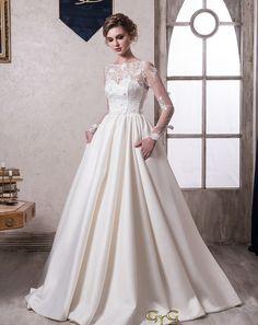 79c1cf2ee El vestido de novia Olivia es un romántico vestido vintage