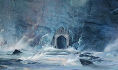 Northern Wall - Game of Thrones Concept Art