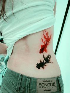 Tatuaje peces
