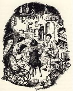 Pauline Baynes, the original illustrator for the Narnia books