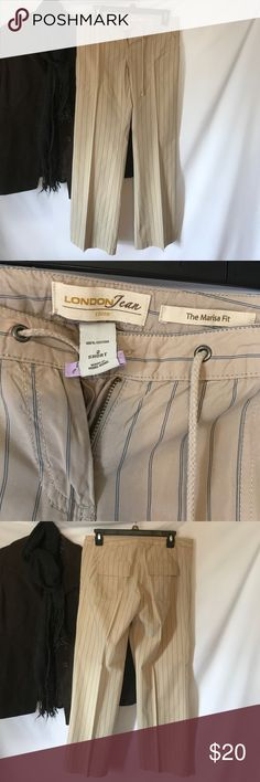 The Marisa fit pants This are in like new condition very beautiful and comfortable casual pants 100% Cotton. I bought from Victoria Secret Catalogue Victoria's Secret Pants Boot Cut & Flare