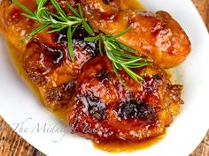 Baked Apricot Chicken Recipes is One Of Liked Chicken Recipes Of Several Persons Around the World. Besides Easy to Create and Great Taste, This Baked Apricot Chicken Recipes Also Healthy Indeed. Peach Chicken, Apricot Chicken, Great Chicken Recipes, Chicken Thigh Recipes, Oven Chicken, Yum Yum Chicken, Classic Chicken Recipe, Apricot Jam Recipes, Cooking Recipes