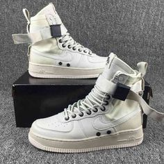 best service b6e85 d8bf0 Nike Special Forces Air Force 1 Boots White 10593