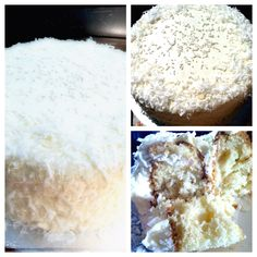 Fabulous Gfree coconut cake! We switched out some flours and tweaked the recipe but basically it is AMAZING!!   http://www.livingwithout.com/recipes/gluten_dairy_free_coconut_cake-2421-1.html