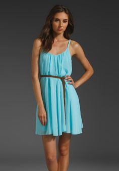 SANCTUARY Sand Beneath Your Toes Dress in High Tide at Revolve Clothing - Free Shipping! With different belts, maybe