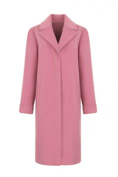 Marks & Spencer pink coat: fashion buy of the day Best Winter Coats, Pink Outfits, Outerwear Women, Military Fashion, Pink Fashion, Winter Fashion, Dresses For Work, Stylish, Coats 2013