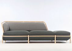 Rattan cane supports Insulaire furniture collection by Nume�ro 111