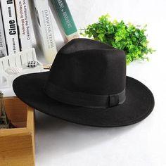 b3fb886db6b Casual Panama Sun Hats Solid Cotton Men Beach Summer Hats For Male Fedora  Trilby Gangster Cap Church Jazz Hats Wide Brim Sunhats