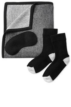 Maiyet cashmere travel set, $1,995, shopBAZAAR.com.   - HarpersBAZAAR.com