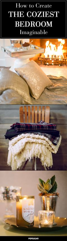 Cozy up your bedroom just in time for the chilly weather.