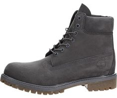 Timberland Mens Icon Premium Grey Nubuck Boot *** You can find more details by visiting the image link. (This is an affiliate link) Waterproof Shoes, Timberland Mens, Hiking Boots, Image Link, Grey, Check, Gray, Repose Gray