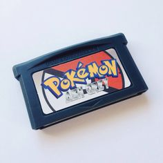e4102d8c Pokemon Ash Grey Repro Cart Romhack for Nintendo Gameboy Game Boy Advance. Brand  new cart. Depop
